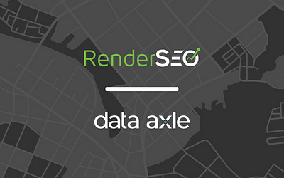 RenderSEO Announces Official Data Axle Partnership
