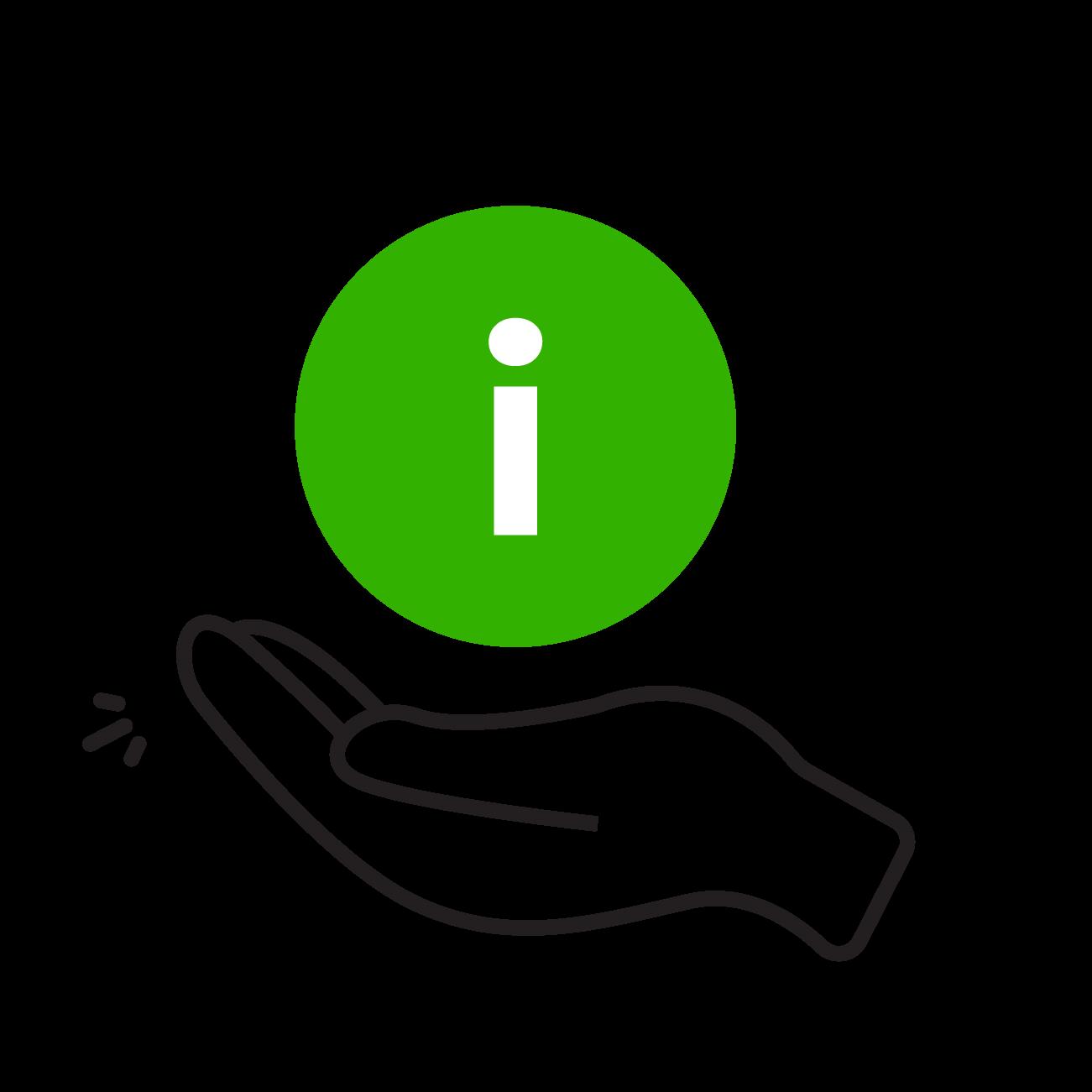 sharing hand icon