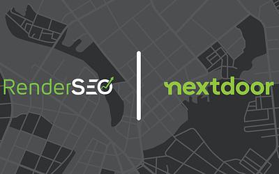 RenderSEO Announces Official Nextdoor Partnership