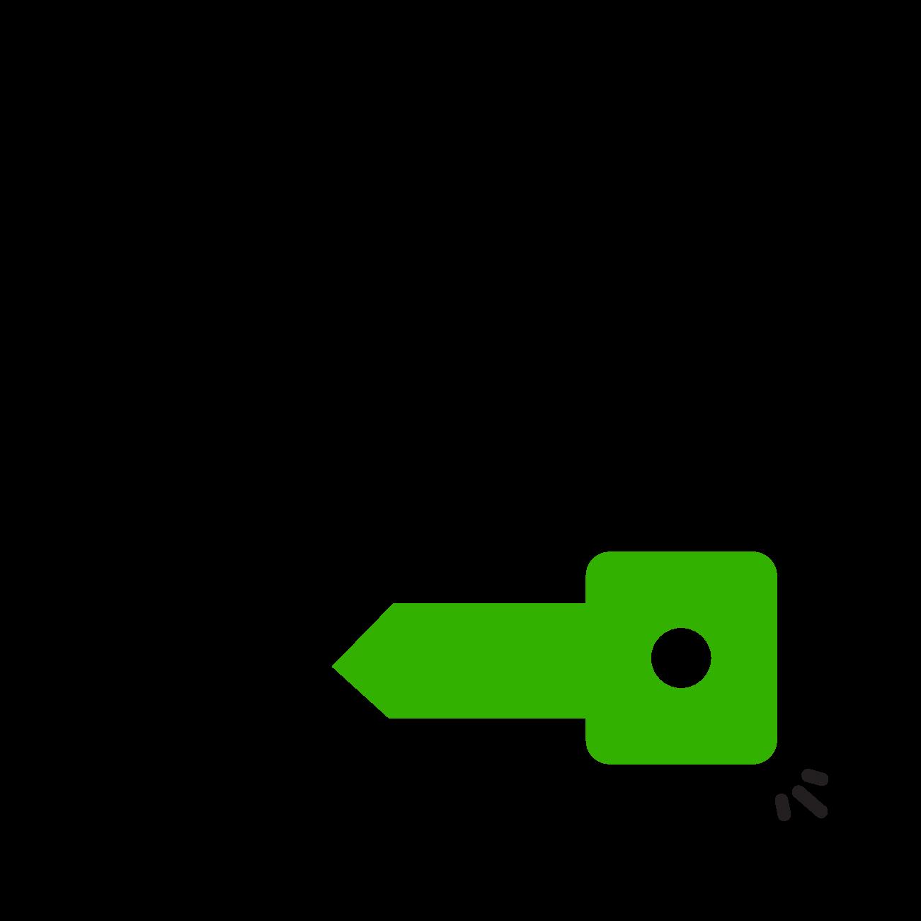 single login key icon